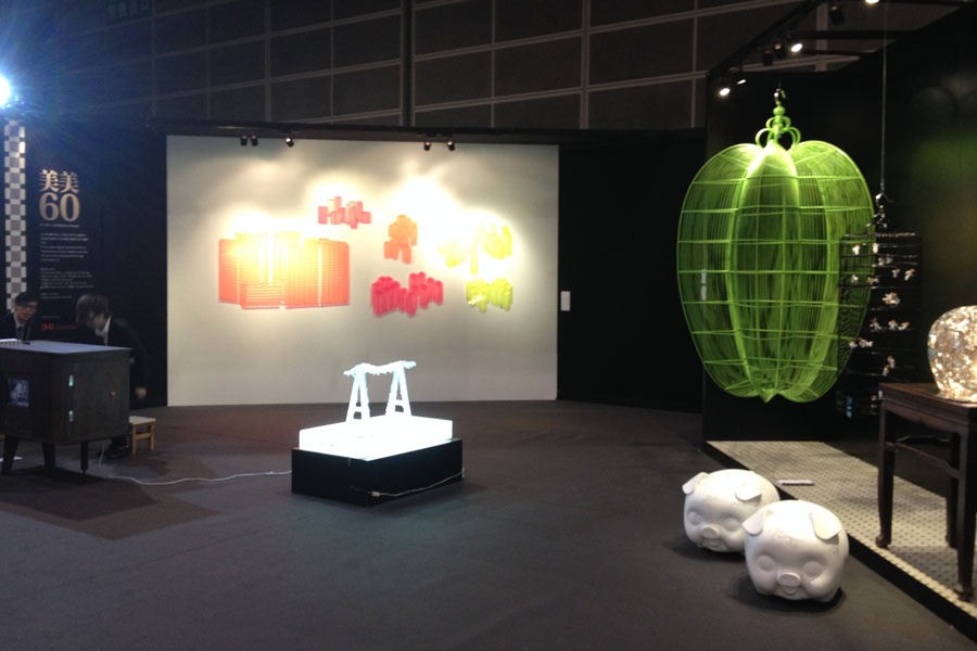 Hi60's Installation Project on Fine Art Asia 2013