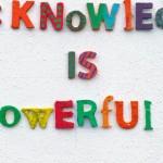 Knowledge is Powerful © Cornelia Erdmann 2016
